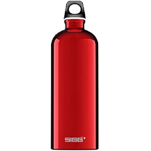 SIGG Water Bottle Traveler 1000ml [SIG100832640] - Red - Sport Water Bottle / Botol Minum